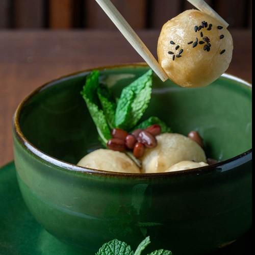 Karikari Mochi - Mochi crujiente con 5 frutas