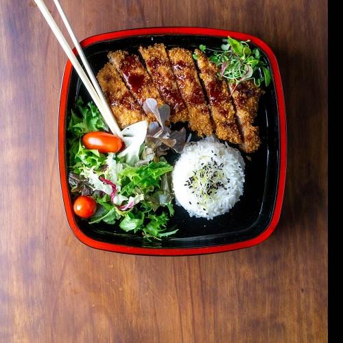 Ton Katsu - Lomo de cerdo crujiente