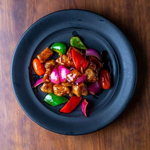 Subuta - Lomo de cerdo con salsa agridulce