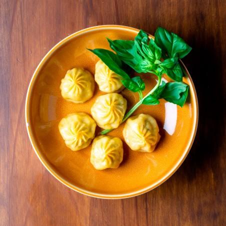 Gyoza de cordero al curry