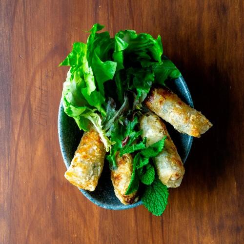 Nem de pollo estilo Viet