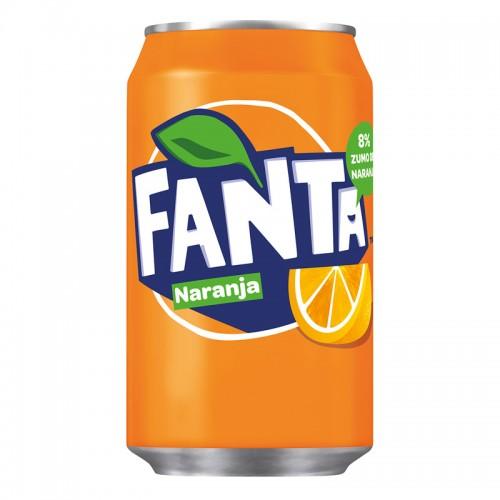 Fanta de naranja (330ml)