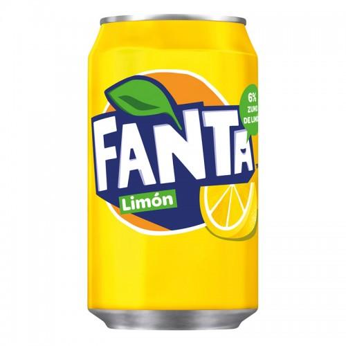 Fanta de limón (330ml)